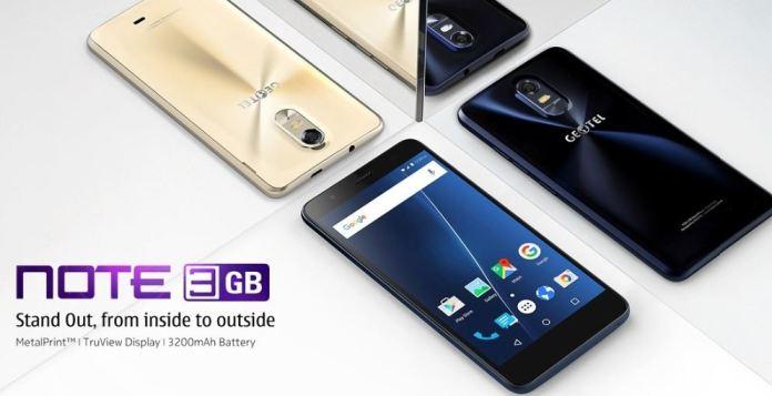Geotel Note Best 3GB RAM Smartphone