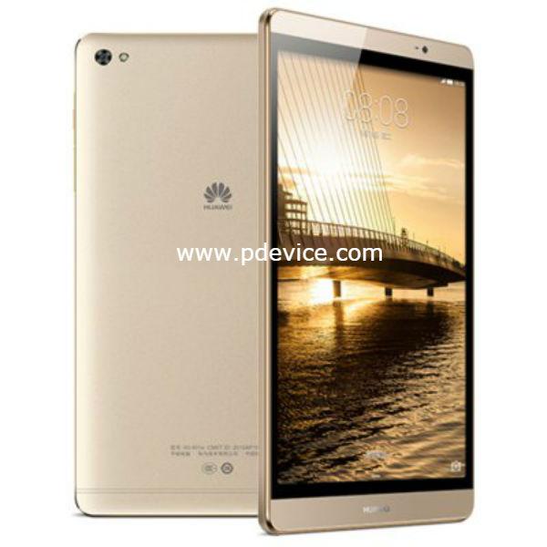 Huawei MediaPad M2 8.0 4GB Wi-Fi Tablet Full Specification