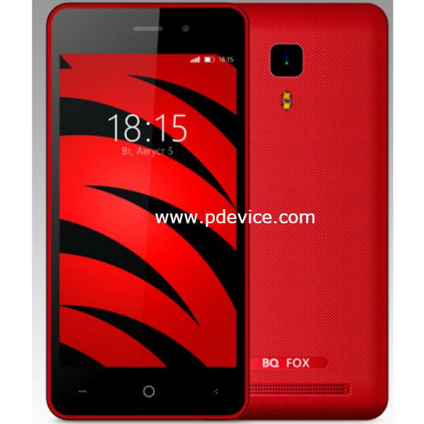 BQ Mobile BQ-4526 Fox Smartphone Full Specification