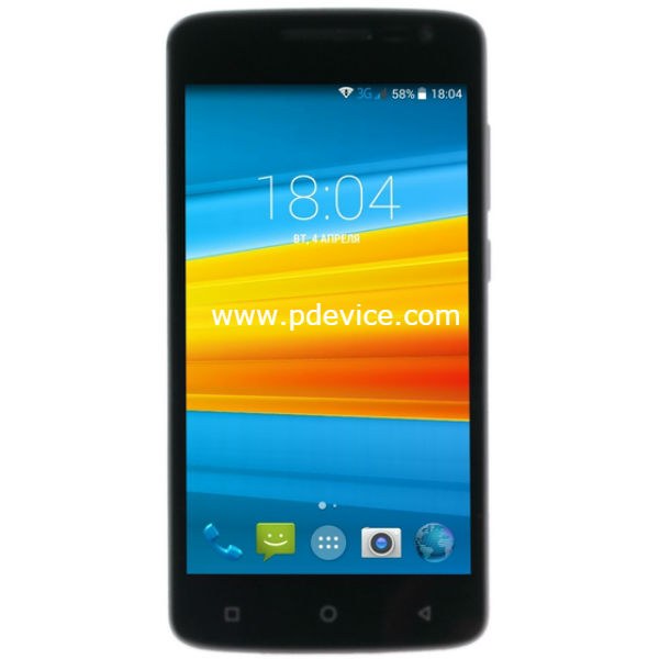 DEXP Ixion EL250 Amper E Smartphone Full Specification