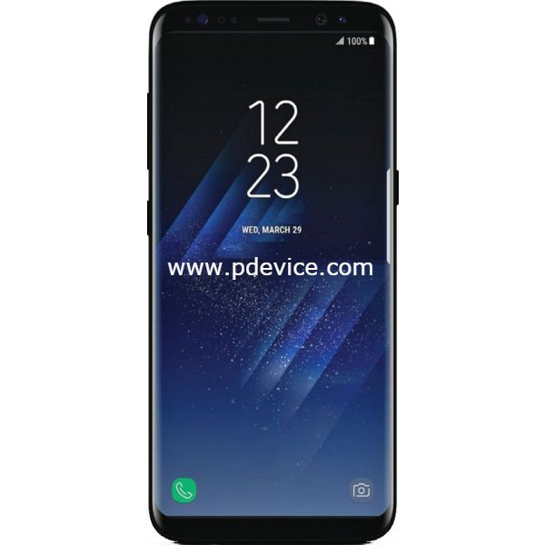 Samsung Galaxy S8 G950FD Dual SIM Smartphone Full Specification