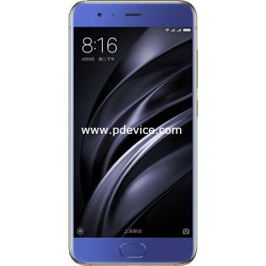 Xiaomi Mi6 6GB 128GB Smartphone Full Specification