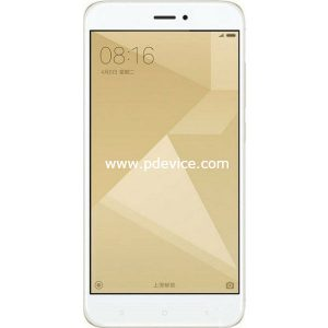 Xiaomi Redmi 4X Global Smartphone Full Specification