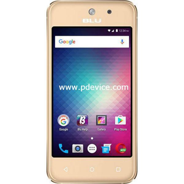 BLU Vivo 5 Mini Smartphone Full Specification