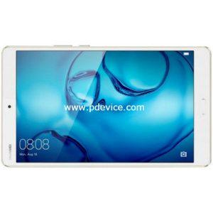 Huawei MediaPad M3 4G Tablet Full Specification