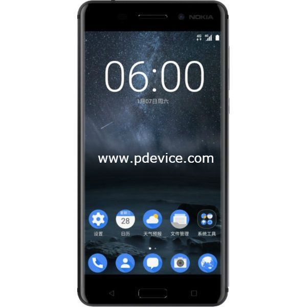 Nokia 6 4GB 64GB Smartphone Full Specification