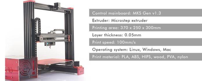TEVO Black Widow 3D Printer Kit 3D Printers