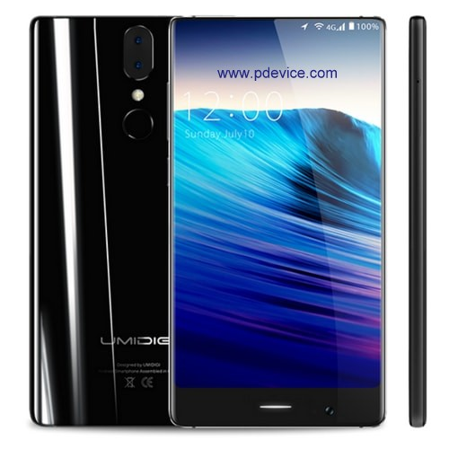 UmiDIGI Crystal Smartphone Full Specification