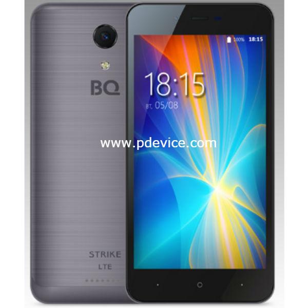 BQ Mobile BQS-5044 Strike LTE Smartphone Full Specification