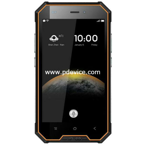 Blackview BV4000 Smartphone Full Specification