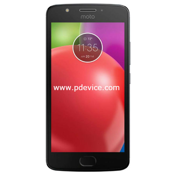 Motorola Moto E4 Smartphone Full Specification