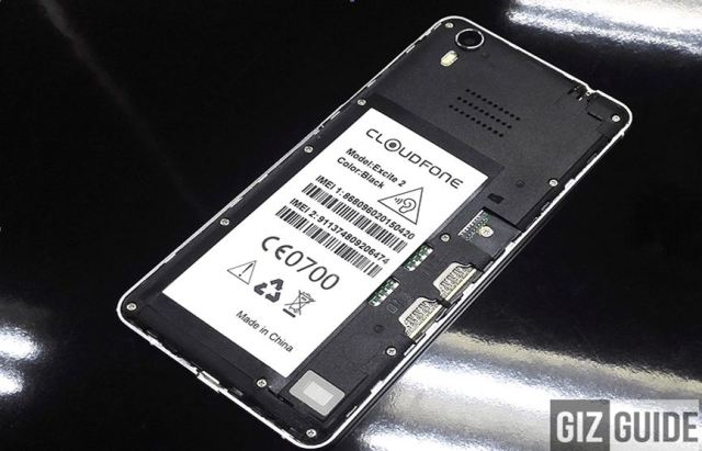 Cloudfone Excite2 Battery