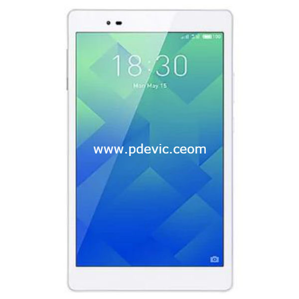 Lenovo P8 Tablet Full Specification