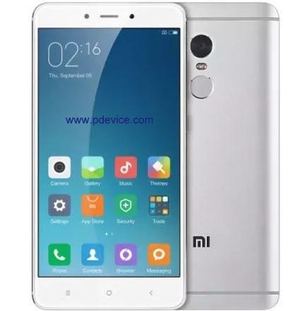 Xiaomi Redmi Note 4 (MediaTek) Smartphone Full Specification