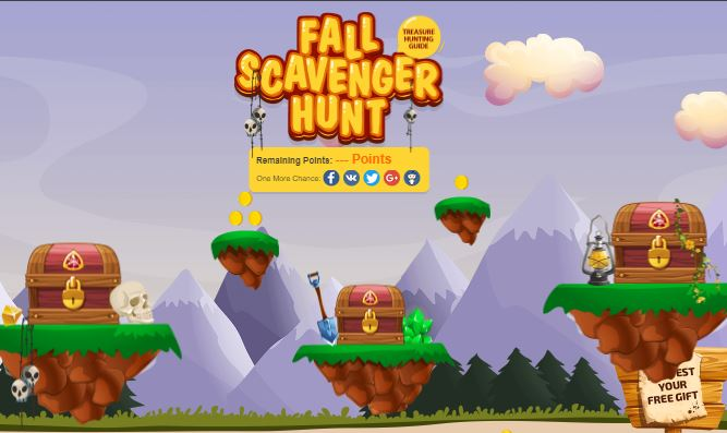 FALL SCAVENGER HUNT Deal and SALE