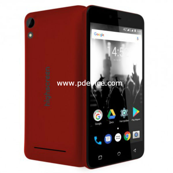 Highscreen Easy Power Smartphone Full Specification