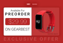 Preorder MGCOOL Band 3 at Gearbest