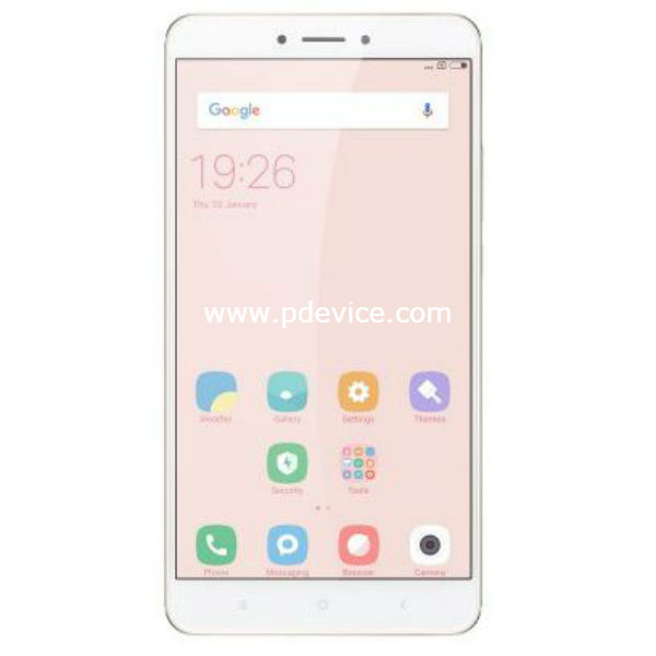 Xiaomi Mi Max 2 Global Smartphone Full Specification