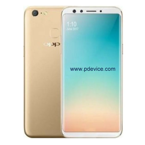 Oppo F5 Smartphone Full Specification