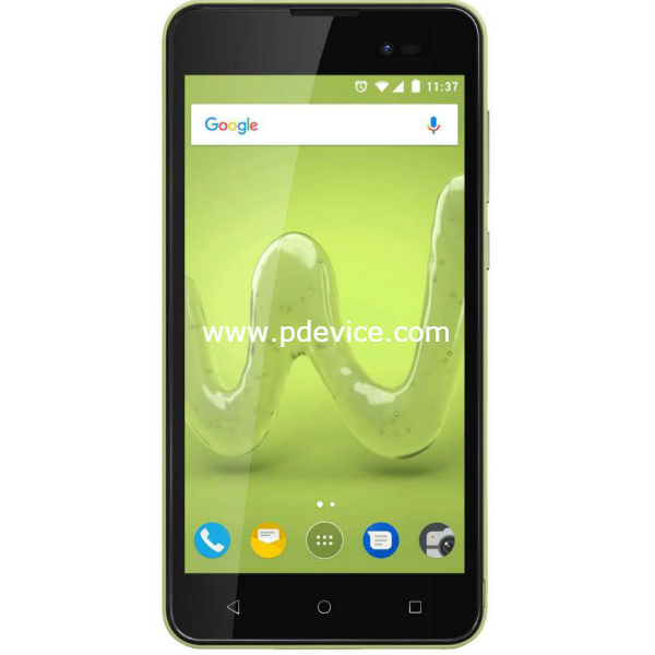 Wiko Sunny 2 Plus Smartphone Full Specification