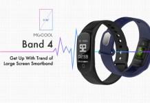 MGCOOL Band 4 Fitness Tracker