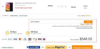 Xiaomi Mi Mix 2 with 10% Discounts
