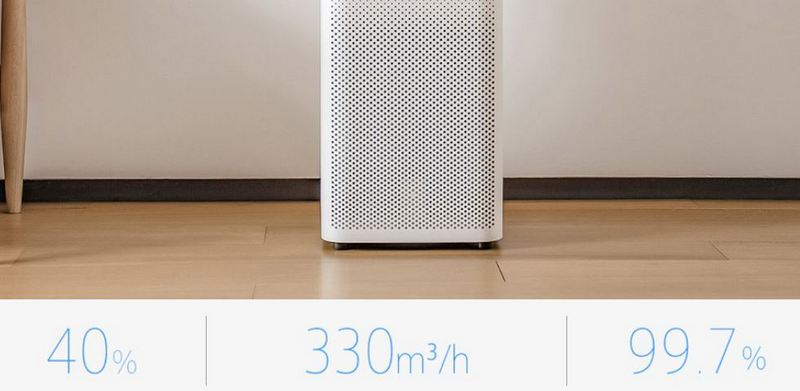 Original Xiaomi Second Generation Smart Mi Air Purifier