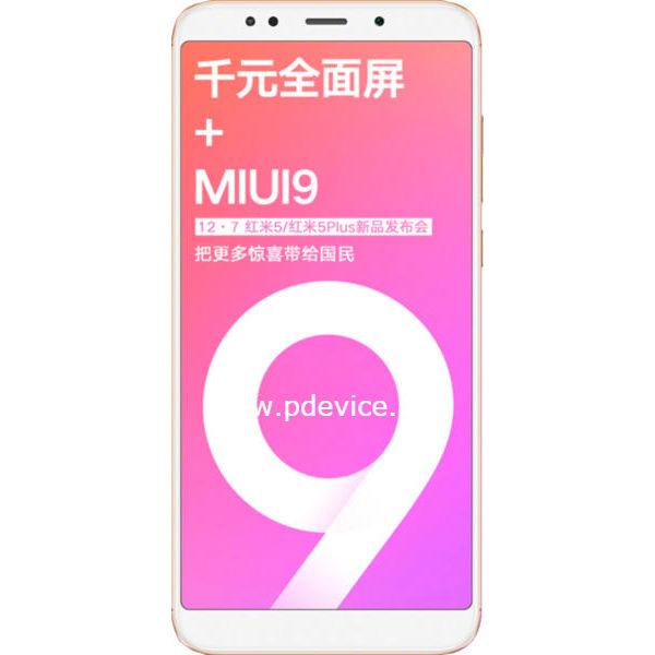 Xiaomi Redmi 5 Plus Smartphone Full Specification