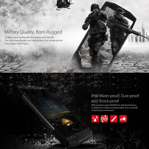 Blackview 9000 Pro Waterproof Phone