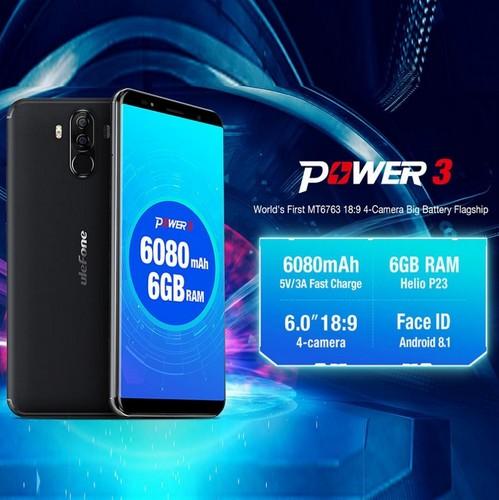 Ulefone Power 3- Amazing Battery
