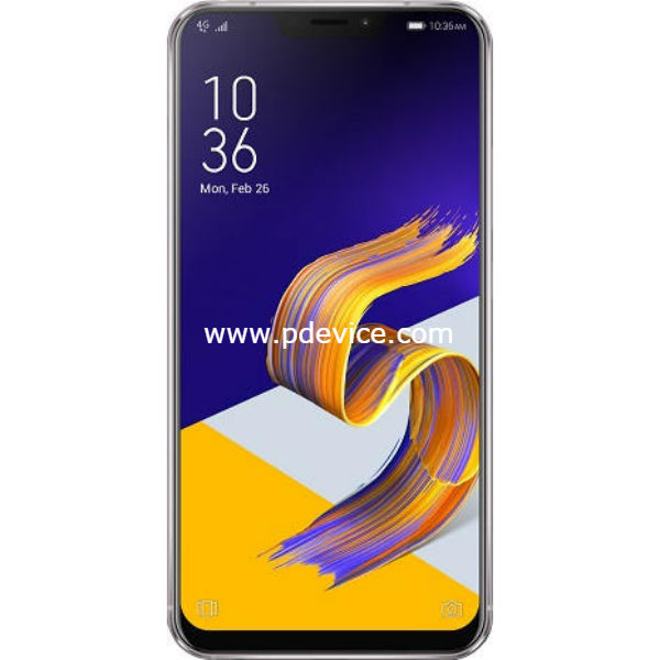 Asus Zenfone 5z ZS620KL Smartphone Full Specification