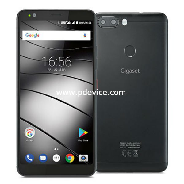 Gigaset GS370 Smartphone Full Specification