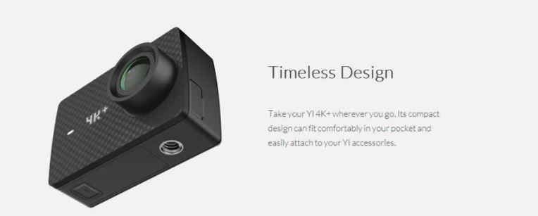 YI 4K+ Action Camera International Version GeekBuying Coupon