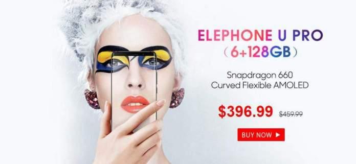 Elephone U Pro GearBest Discount