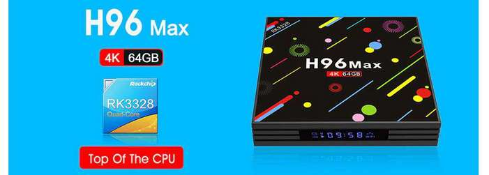 H96 MAX - H2 TV Box GearBest Discount Coupon