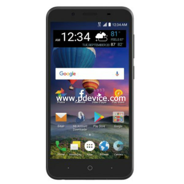 ZTE ZFive G LTE Smartphone Full Specification