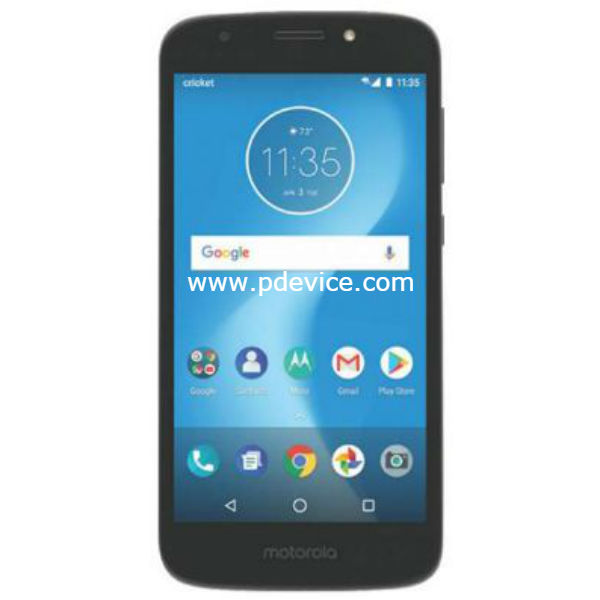Motorola Moto E5 Cruise Smartphone Full Specification