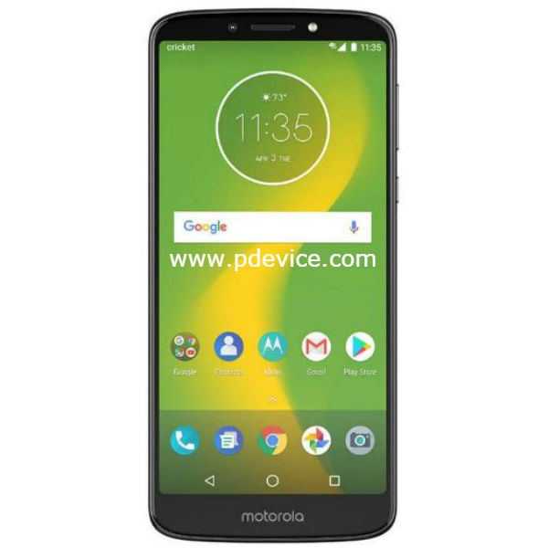 Motorola Moto E5 Supra Smartphone Full Specification