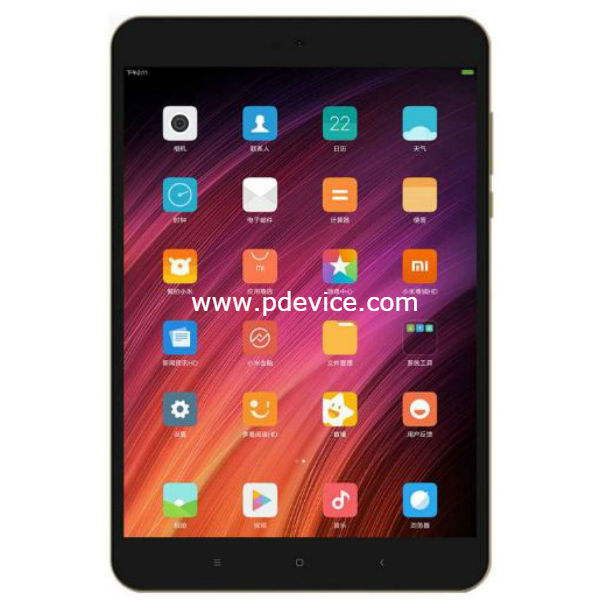Xiaomi Mi Pad 4 Wi-Fi Tablet Full Specification