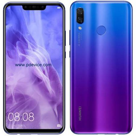 Huawei Nova 3 Smartphone Full Specification