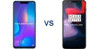 Huawei nova 3i vs OnePlus 6