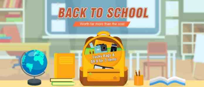 TomTop Big Sale 2018 - Back to School Promotion