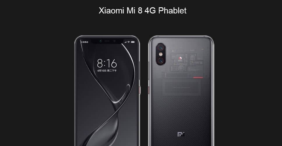 Xiaomi Mi 8 Explorer Edition GearBest $50 Coupon Code for Limited Units