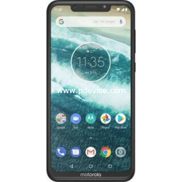 Motorola One Smartphone Full Specification
