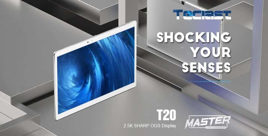 Teclast T20 4G Phablet Fingerprint Recognition GearBest $10 Coupon Code