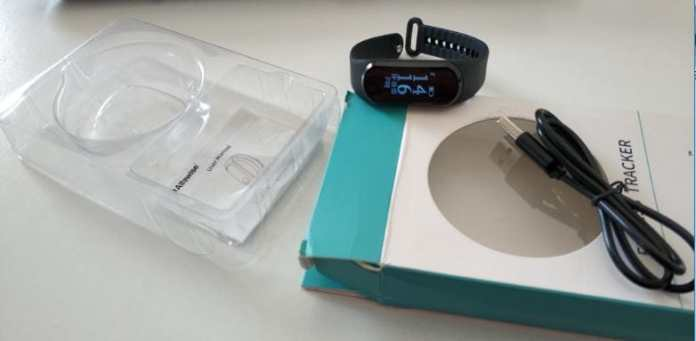 Alfawise Mini 3 Smart Bracelet Review after 4 days of Use