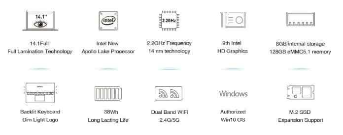 Chuwi Lapbook Air CWI529 $10 Promo Code Online