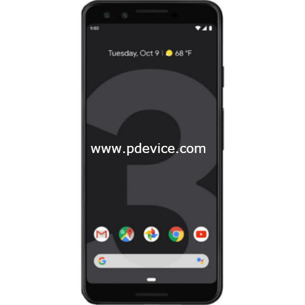 Google Pixel 3 Smartphone Full Specification