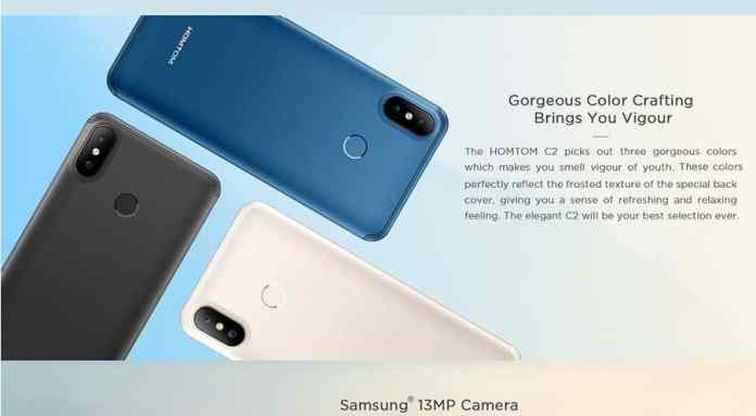 HOMTOM C2 Coupon Code from GearBest