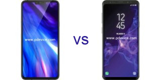 LG V40 ThinQ vs Samsung Galaxy S9 Plus